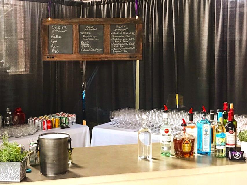Museum Bar Setup