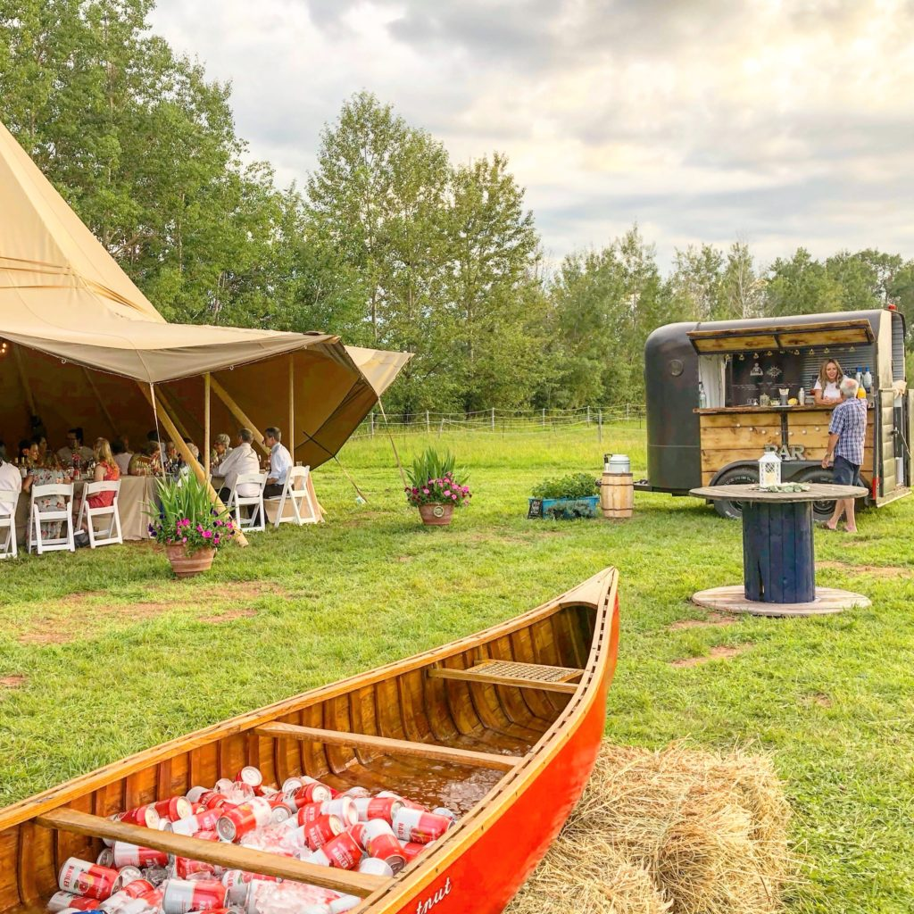 Reception with Koho Tents